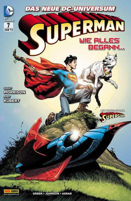 Superman 7 - Das Cover