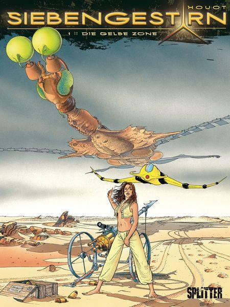 Siebengestirn 1: Die gelbe Zone - Das Cover