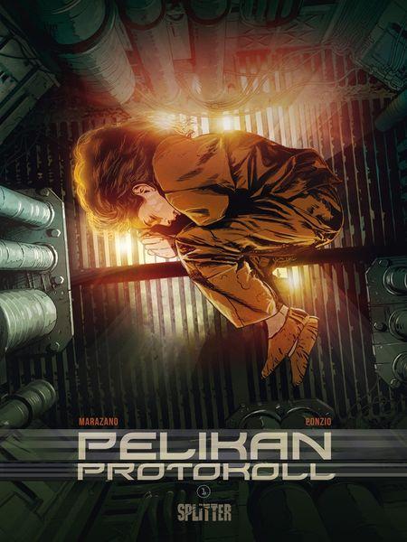 Pelikan Protokoll 1: Erste Phase - Das Cover