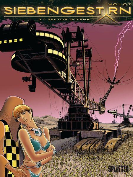 Siebengestirn 3: Sektor Glypha - Das Cover