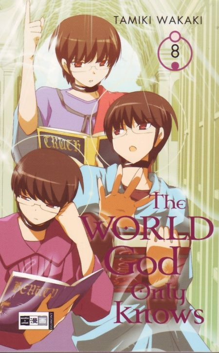 The World God only knows 8 - Das Cover