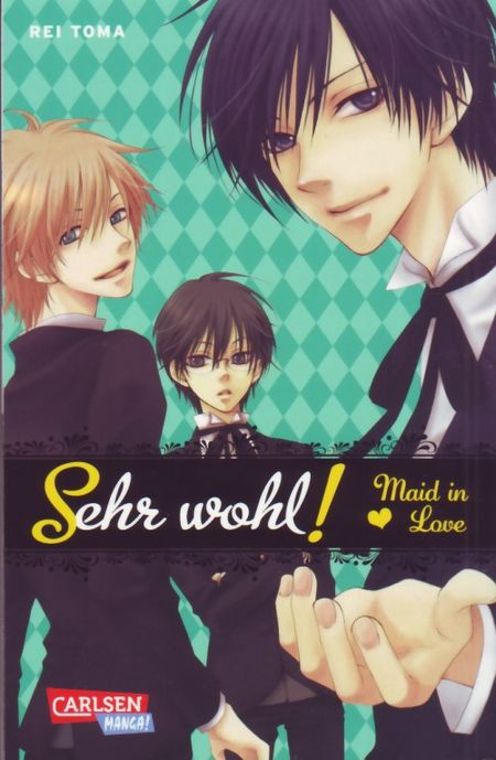 Sehr wohl! Maid in Love - Das Cover