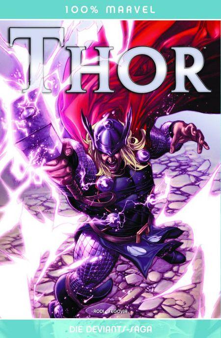 100% Marvel 65: Thor - Die Deviants-Saga - Das Cover