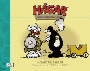 Hägar der Schreckliche - Gesamtausgabe 18 - Tagesstrips 1999 bis 2000 - Das Cover