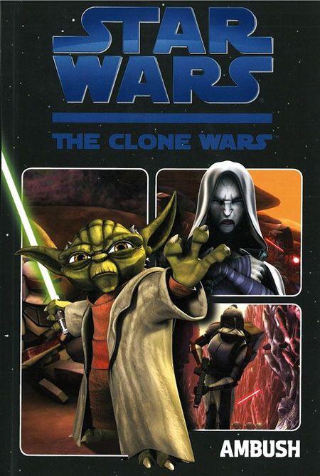 Star Wars TV-Comic: The Clone Wars 1: Der Hinterhalt - Das Cover