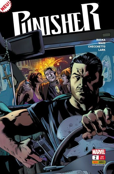 Punisher 2: Die Omega Disc - Das Cover