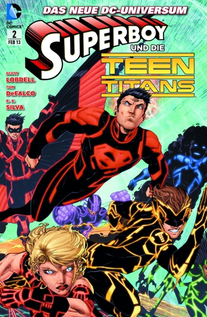 Superboy 2: Die Auslese - Das Cover