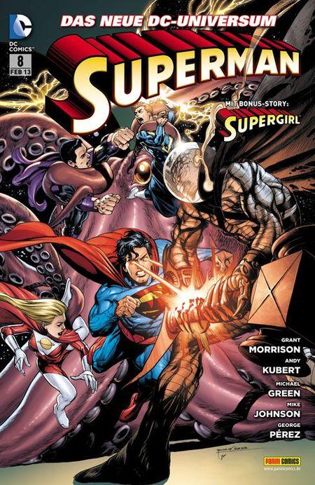 Superman 8 - Das Cover