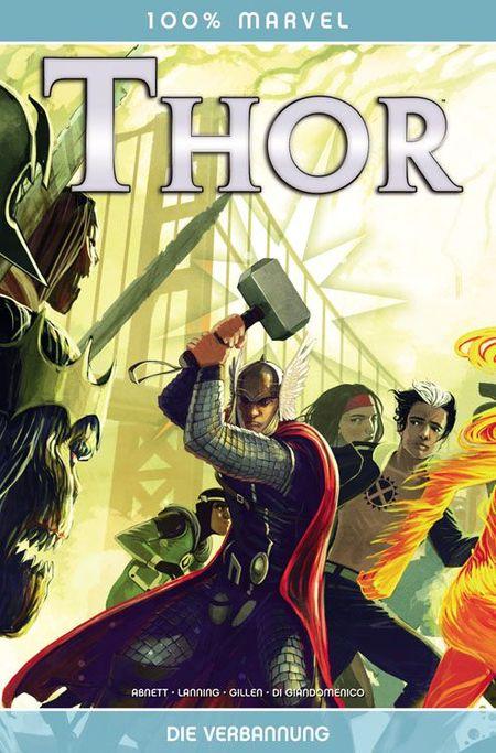 100% Marvel 66: Thor - Die Verbannung - Das Cover