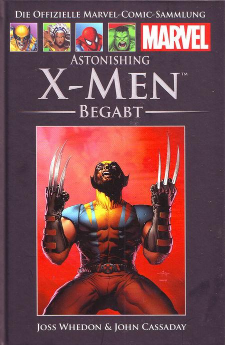 Die offizielle Marvel-Comic-Sammlung 38: X-Men - Begabt - Das Cover