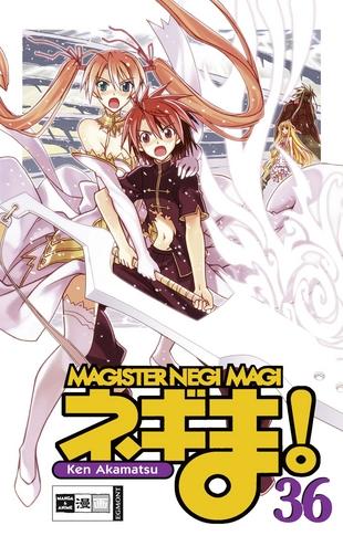Magister Negi Magi 36 - Das Cover