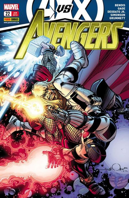 Avengers 22 - Das Cover