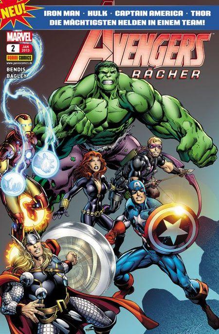 Avengers - Die Rächer 2 - Das Cover