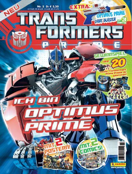 Transformers Prime 3 - Das Cover