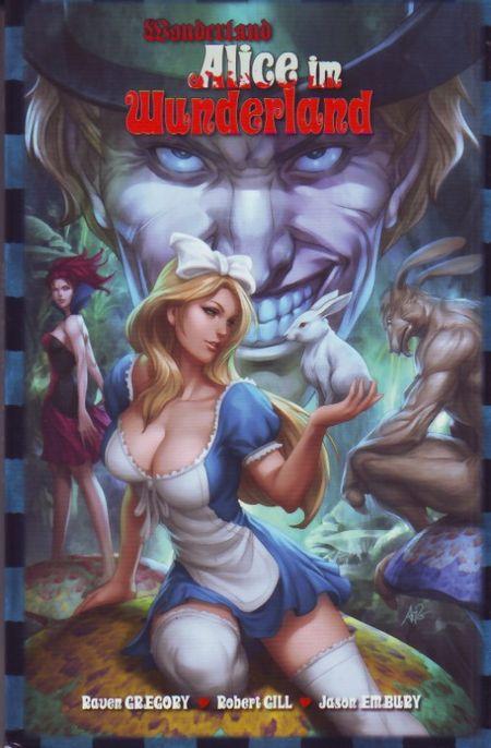 Wonderland 7: Alice im Wunderland - Das Cover