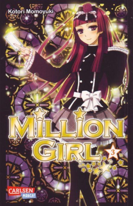 Million Girl 3 - Das Cover
