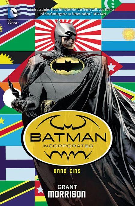 Batman Incorporated Paperback 1 Softcover - Das Cover