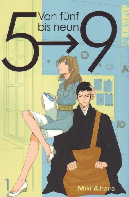 Von fünf bis neun 5->9 1 - Das Cover
