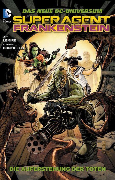 Superagent Frankenstein 1: Die Auferstehung der Toten - Das Cover
