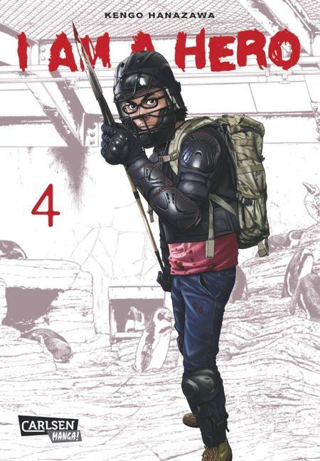 I am a Hero 4 - Das Cover
