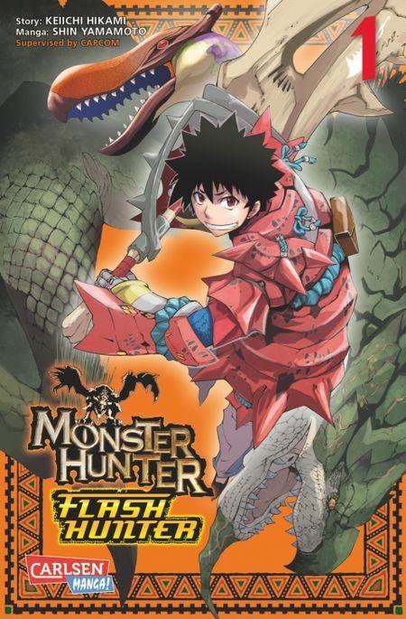 Monster Hunter Flash Hunter 1 - Das Cover