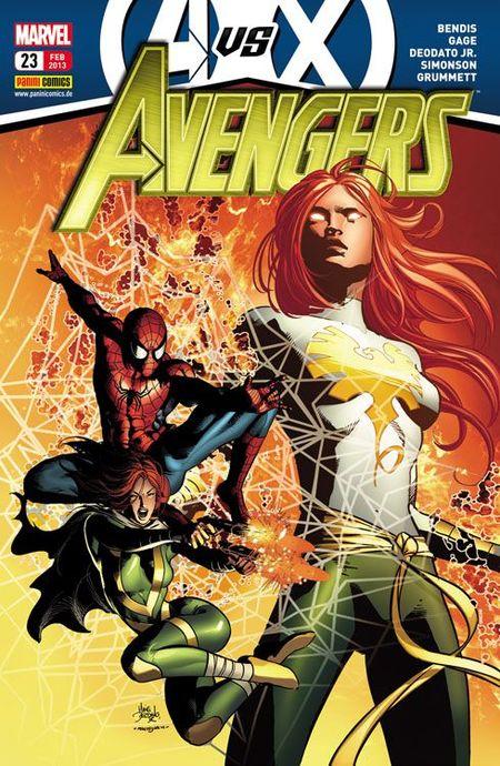 Avengers 23 - Das Cover