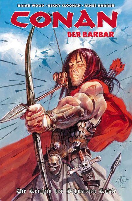 Conan der Barbar 1 - Das Cover