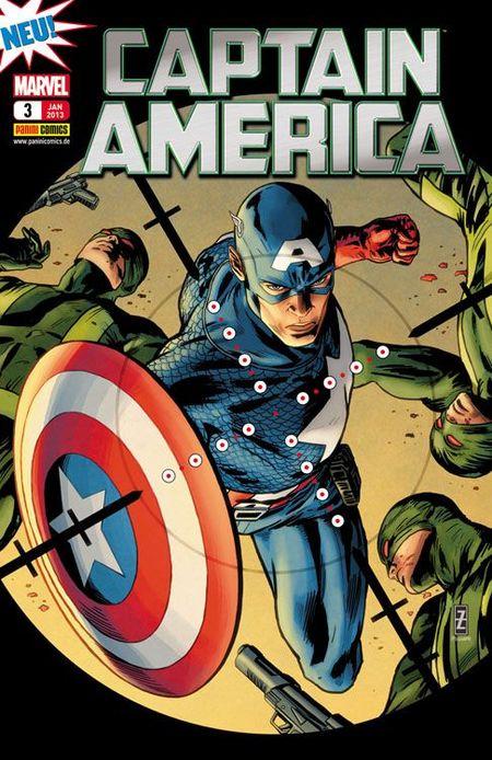 Captain America 3: Ein Schock für das System - Das Cover
