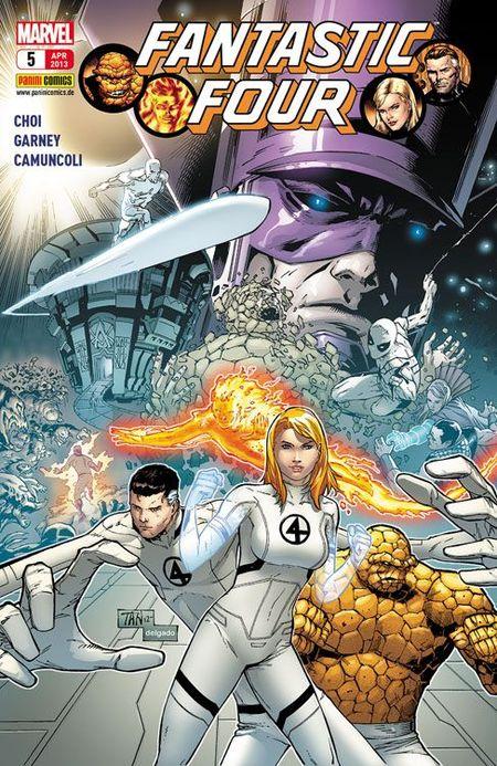 FF - Fantastic Four 5 - Das Cover