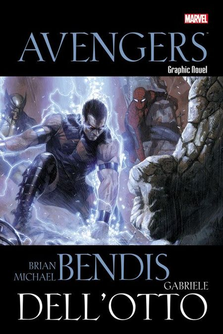 Marvel Graphic Novel Avengers - Das Cover