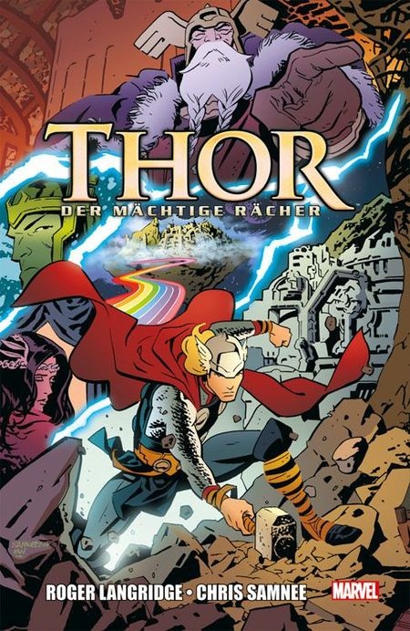 Thor: Der mächtige Rächer - Das Cover