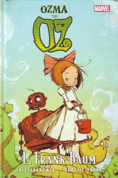 Ozma von Oz - Das Cover
