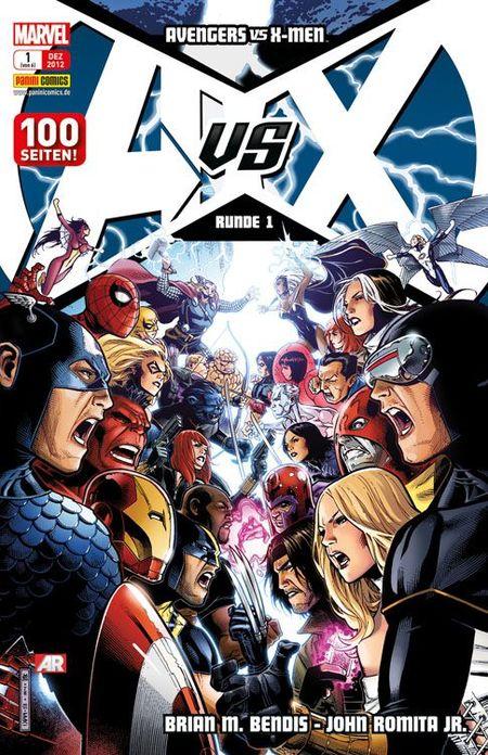 Avengers vs. X-Men 1 - Das Cover