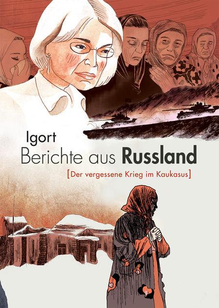 Berichte aus Russland - Das Cover