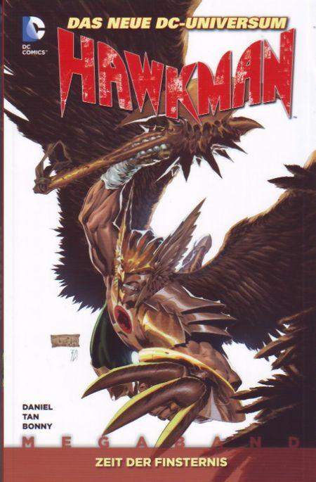 Hawkman-Megaband 1: Zeit der Finsternis - Das Cover