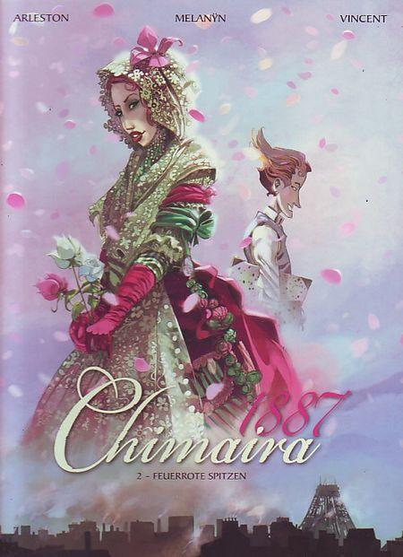 Chimaira 1887: 2. Feuerrote Spitzen - Das Cover