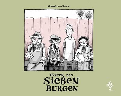 Hinter den Sieben Burgen - Das Cover