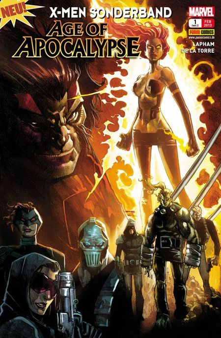 Age of Apocalypse 1: Auferstehung - Das Cover