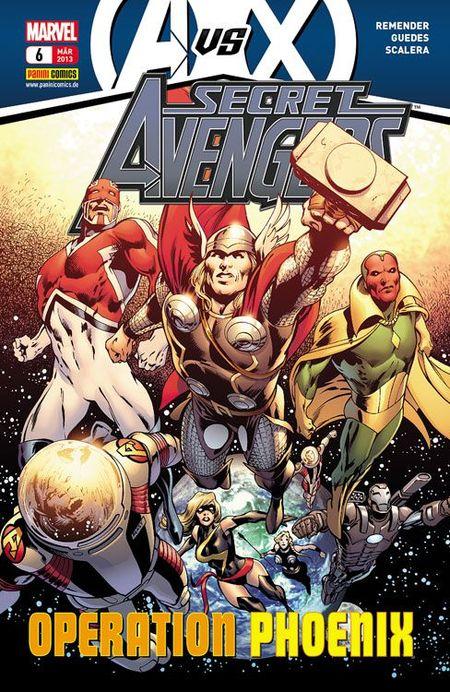Secret Avengers 6: Operation Phoenix - Das Cover
