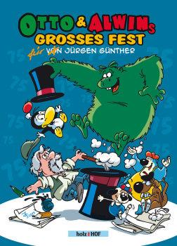 Otto und Alwins großes Fest - Das Cover