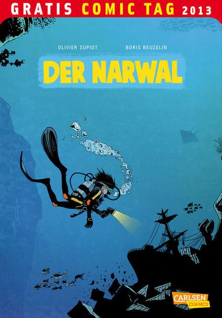 Gratis Comic Tag 2013: Der Narwal - Das Cover