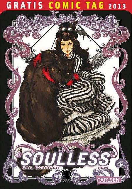 Gratis Comic Tag 2013: Soulless - Das Cover