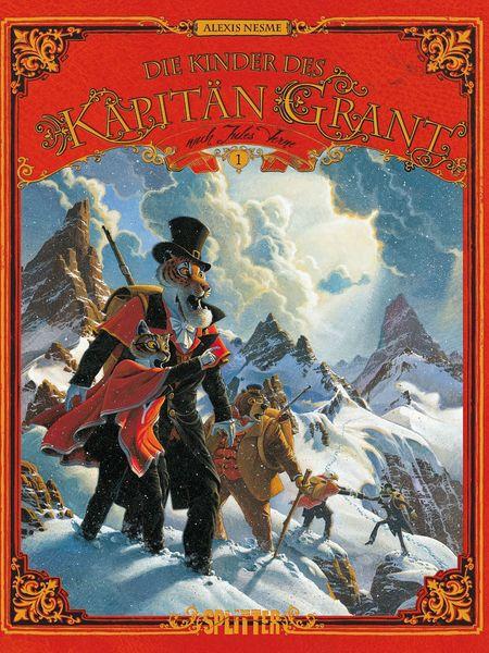 Die Kinder des Kapitän Grant 1 - Das Cover