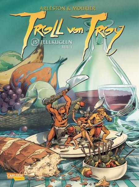 Troll von Troy 15: Fellkugeln - Teil 1 - Das Cover