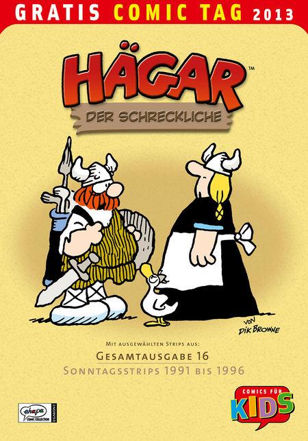 Gratis Comic Tag 2013: Hägar - Das Cover