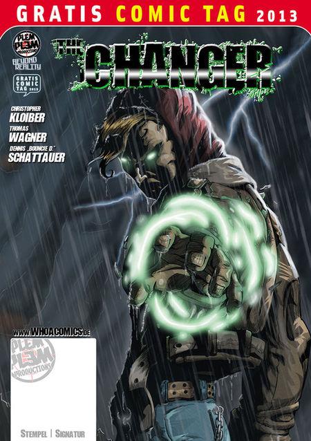 Gratis Comic Tag 2013: The Changer - Das Cover