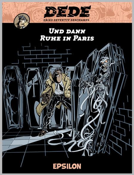 Dédé 4: Und dann Ruhe in Paris  - Das Cover