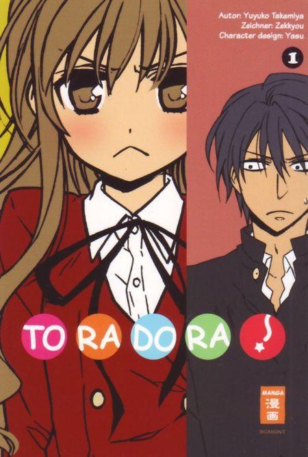 Toradora 1 - Das Cover