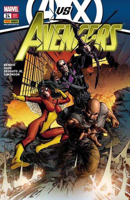 Avengers 24 - Das Cover