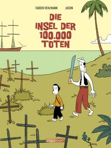 Die Insel der 100.000 Toten - Das Cover